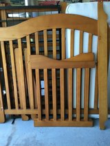 Convertible Crib/Toddler Bed in Naperville, Illinois