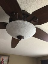 "Great room 70"" ceiling fan w/ dimmer light and remote in Travis AFB, California"