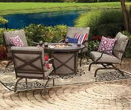 Wilson & Fisher Mesa Patio Furniture Collection/Fire Pit in Travis AFB, California