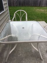 Patio table in Watertown, New York