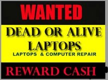 Wanted dead or alive laptops computerd in Lakenheath, UK