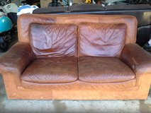 A VERY NICE, SOLID LEATHER, LOVE SEAT in Kingwood, Texas