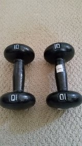 10 lb.  dumbbell (pair) in Travis AFB, California