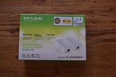 TP-Link AV500 Nano Powerline Adapter Starter Kit (TL-PA4010KIT) *new in box* in Okinawa, Japan