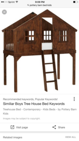 Pottery Barn kids loft bed in bookoo, US