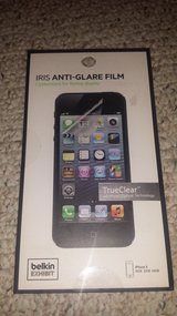 New!  2pk Iris Anti-Glare Film for iPhone 5 in Wheaton, Illinois