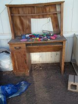 Old Brown Computer Table in Alamogordo, New Mexico