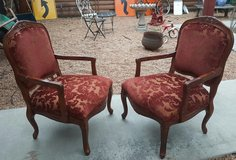 Pair of Beautiful Queen Anne Lounge  Chairs in Baytown, Texas