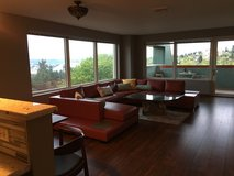 Modern leather sectional in Fort Lewis, Washington