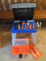 Work Bench w/ Tool Box & 7 Tools in Bartlett, Illinois