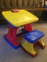 Child's Art Desk/Easel with Chair in Bartlett, Illinois