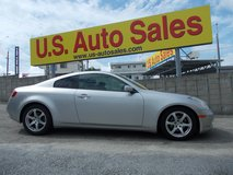 2003 NISSAN SKYLINE COUPE/ INFINITY G35 IN US/ in Okinawa, Japan