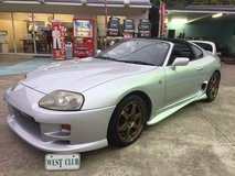 """HURRICANE""- RARE TARGA TOP- SEP/1993 TOYOTA SUPRA TWIN TURBO- AUTO in Okinawa, Japan"