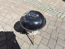 Small charcoal grill BBQ in Ramstein, Germany