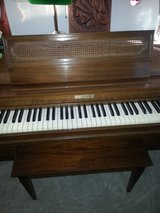 "Baldwin acrosonic 36"" Spinet piano serial # 845124 in Naperville, Illinois"