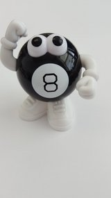 """Mr. 8 Ball"" in Oswego, Illinois"
