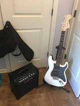 Fender Squire Strat / Line 6 Amp in Fort Campbell, Kentucky