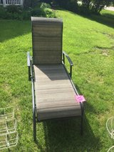 Large Outdoor chaise lounger patio furniture ( pickup in Oswego) in Shorewood, Illinois