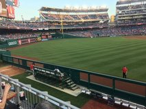 Washington Nationals v Seattle Mariners May 25th in Bolling AFB, DC
