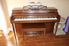 Wurlitzer Spinet Piano and Bench in Perry, Georgia