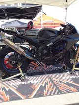 2005 GSX-R 1000 (track bike) in Camp Pendleton, California