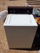 KENMORE washer / also have smaller apt in Yucca Valley, California