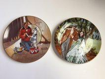 HOWARD ROGERS and Norman Rockwell Limited Edition Plates in Fort Campbell, Kentucky