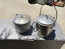 Coffee pot and sauce pan in Yucca Valley, California