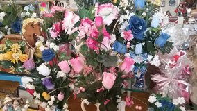 BEAUTIFUL  HAND CRAFTED  SILK FLOWERS in DeRidder, Louisiana