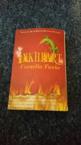 Inkheart book in Lakenheath, UK