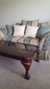 Love seat,  two seater Lg. chair, sofa, and coffee table, end table in Fort Rucker, Alabama