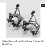 SRAM Force, front and rear brake with Reynolds Carbon pads in Ramstein, Germany
