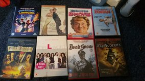 Collection of dvds in Lakenheath, UK