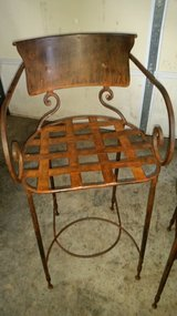 2 Iron Bar Stools in Fort Campbell, Kentucky