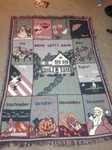 Throw Blanket Month Theme in Shorewood, Illinois