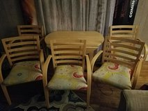 Dining room table and chairs in Little Rock, Arkansas