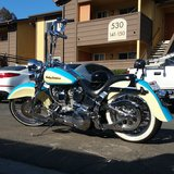86 Harley Softail FXST in Hemet, California