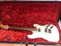 Fender Blacktop Stratocaster HH with hard case in Okinawa, Japan