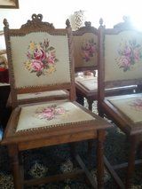 6 Antique chairs in Ramstein, Germany