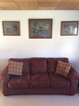 couch with matching love seat in Ramstein, Germany
