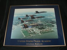 Blue Angels United States Naval Academy Framed Print in Glendale Heights, Illinois