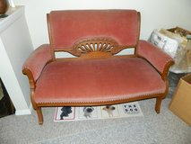 Antique love seat in Brookfield, Wisconsin