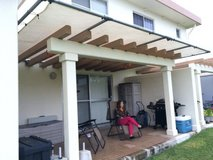 18ft X 11ft Canopy with concrete anchors in Okinawa, Japan