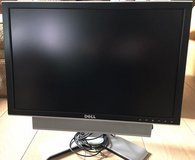 20 inch widescreen Dell Monitor 2007WFPb with sound bar (110-240v) in Stuttgart, GE