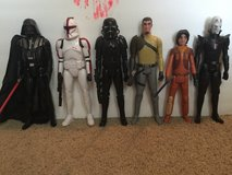 Star Wars Rebels Large Action Figure Lot in Perry, Georgia