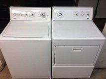 NEWEST MATCHING WASHER AND DRYER , KING SIZE, WRINKLE FREE FABRIC in Mayport Naval Station, Florida