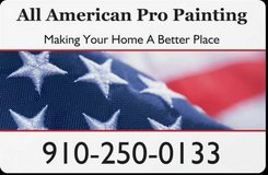 All American Pro Painting and Pressure Washing in Wilmington, North Carolina