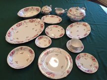 Damara Dream Rose China w/Serving Pieces 1940's -95 Pcs in Naperville, Illinois