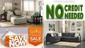 Ashley Sectional. 2 Colors. GORGEOUS PILLOWS. in Cherry Point, North Carolina