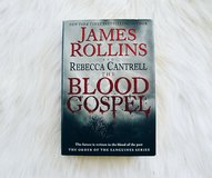 Blood Gospel James Rollins Novel in Camp Lejeune, North Carolina